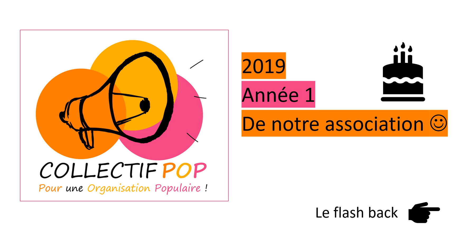 Collectif POP : 1 an déjà :)!